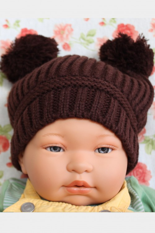 Beanie Hat Brown
